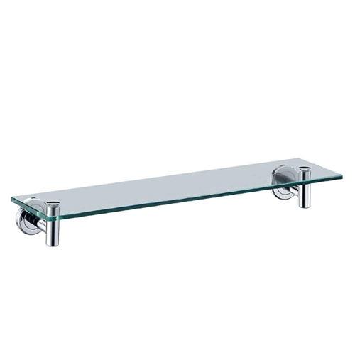 Gatco Latitude II 20.13 inch W Glass Shelf in Chrome 380017