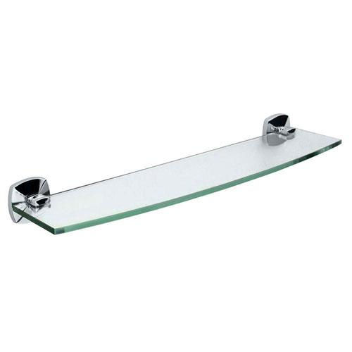 Gatco Jewel 20.13 inch W Glass Shelf in Chrome 463566