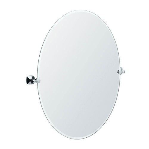 Gatco Jewel 28.5 inch Large Oval Mirror in Chrome 463583