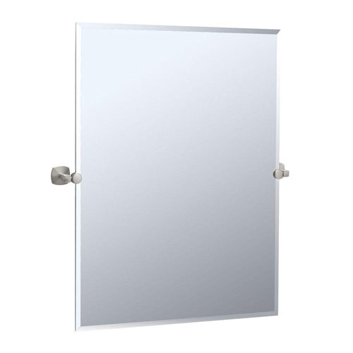 Gatco Jewel 28.5 inch Rectangular Mirror in Satin Nickel 463588