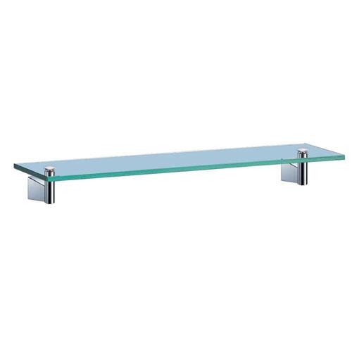 Gatco Bleu 20.13 inch W Shelf Glass in Chrome 569839