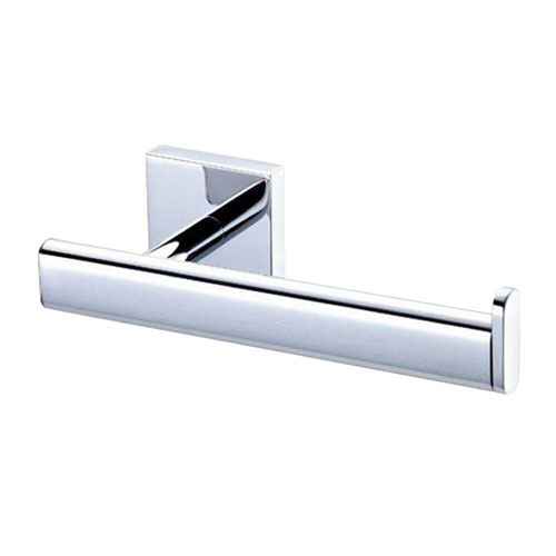 Gatco Elevate Euro Single Post Toilet Paper Holder in Chrome 640032