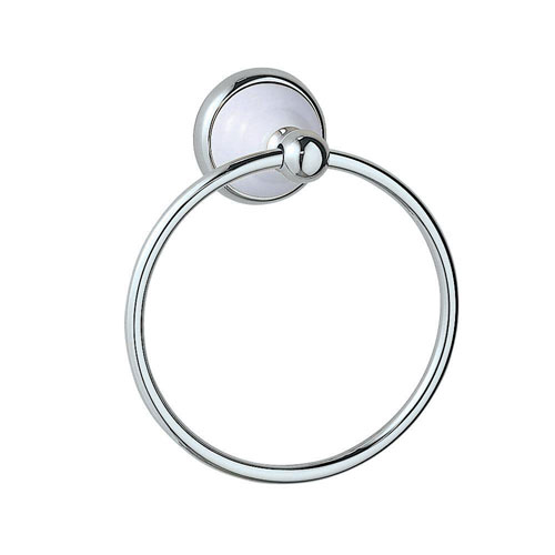 Gatco Franciscan Towel Ring in Chrome 73288