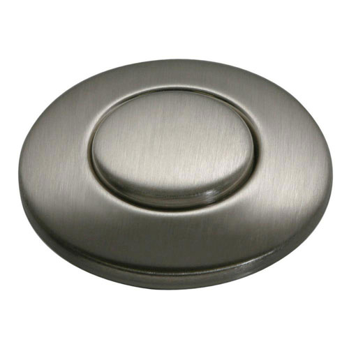 InSinkErator SinkTop Switch Button in Satin Nickel 586677