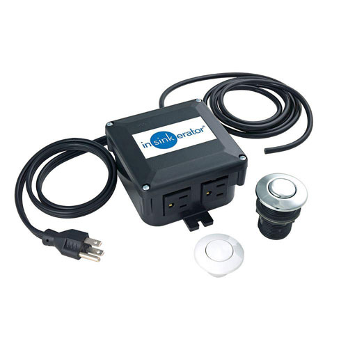 InSinkErator SinkTop Switch Dual Outlet for InSinkErator Disposers 651356