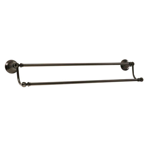 Price Pfister Catalina 28-3/8 inch Double Towel Bar in Tuscan Bronze 375301