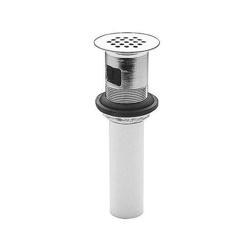 Price Pfister Ashfield Metal Grid Strainer with Overflow in Polished Chrome 425285