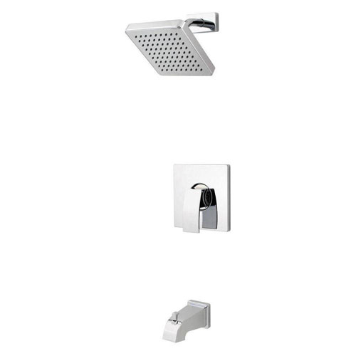 Price Pfister Kenzo 1-Handle Tub and Shower Faucet in Polished Chrome 443845