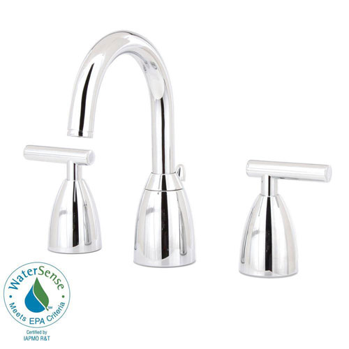 Price Pfister Contempra 8 inch Widespread 2-Handle Bathroom Faucet in Polished Chrome 475640