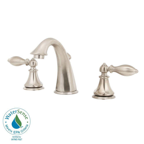Price Pfister Catalina 8 inch Widespread 2-Handle Bathroom Faucet in Brushed Nickel 475643