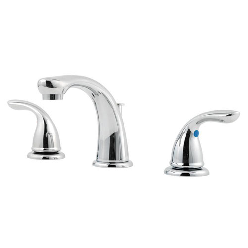 Price Pfister Pfirst Series 8 inch Widespread 2-Handle Bathroom Faucet in Polished Chrome 475730