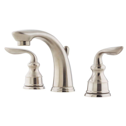 Price Pfister Avalon 8 inch Widespread 2-Handle Bathroom Faucet in Nickel 475803
