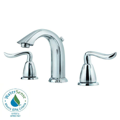 Price Pfister Santiago 8 inch Widespread 2-Handle Bathroom Faucet in Polished Chrome 475819