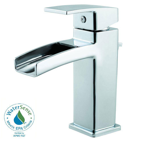 Price Pfister Kenzo 4 inch Centerset 1-Handle Bathroom Faucet in Polished Chrome 475839