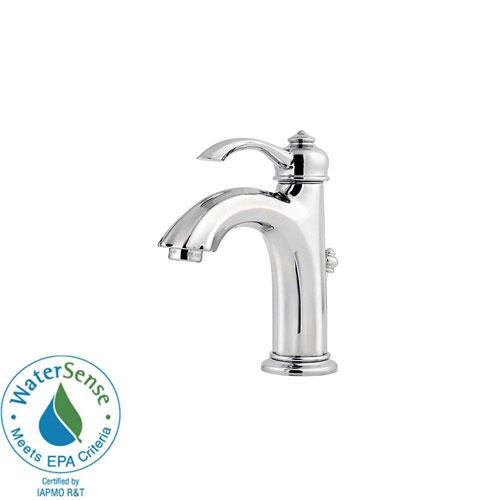 Price Pfister Portola 4 inch Single-Handle High-Arc Bathroom Faucet in Polished Chrome 490478