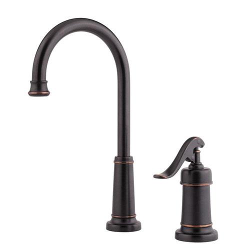 Price Pfister Ashfield Single-Handle Bar Faucet in Tuscan Bronze 519879