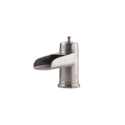 Price Pfister Ashfield 2-Handle Deck Mount Roman Tub Faucet Trim Kit in Brushed Nickel (Valve and Handles Not Included) 534643