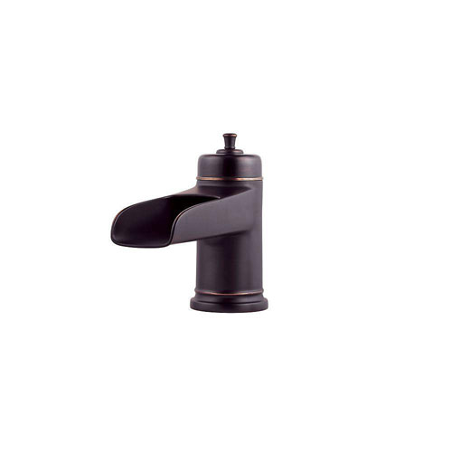 Price Pfister Ashfield 2-Handle Deck Mount Roman Tub Faucet Trim Kit in Tuscan Bronze (Valve and Handles Not Included) 534645