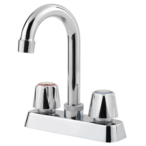 Price Pfister Pfirst Series 2-Handle Bar Faucet in Polished Chrome 534692