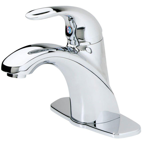 Price Pfister Parisa Single Control 4 inch Centerset 1-Handle Bathroom Faucet in Polished Chrome 534699