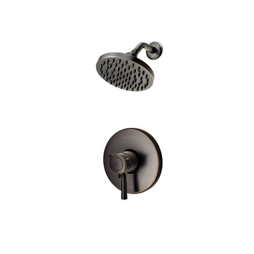 Price Pfister Single-Handle Shower Faucet Trim Kit in Tuscan Bronze (Valve Not Included) 538676