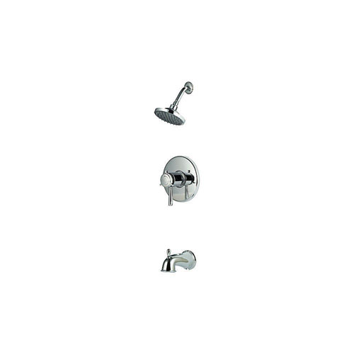Price Pfister Single-Handle Tub and Shower Faucet Trim Kit in Polished Chrome (Valve Not Included) 544400
