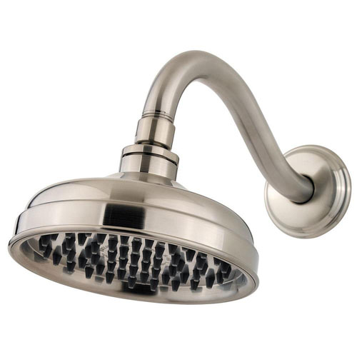 Price Pfister Marielle 6 inch Raincan Showerhead in Brushed Nickel 786533