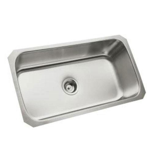 Sterling McAllister Undermount Stainless Steel 29-1/2x15-3/4x9-5/16 0-Hole Single Bowl Kitchen Sink 246081