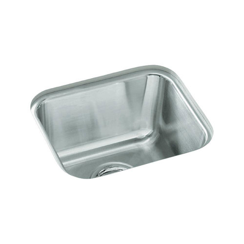 Sterling Springdale Undercounter Stainless Steel 14 inch Single Bowl Kitchen Sink 249725