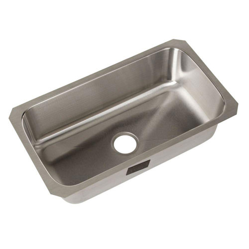 Sterling Carthage Undermount Stainless Steel 32 inch 0-Hole Single Bowl Kitchen Sink 514440