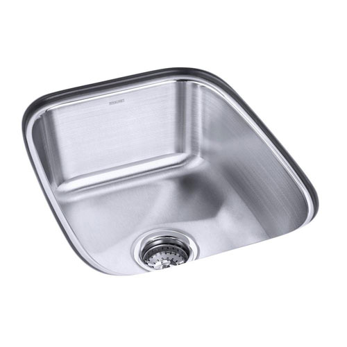 Sterling Springdale Undermount Stainless Steel 20.5 inch 0-Hole Single Bowl Kitchen Sink 663143