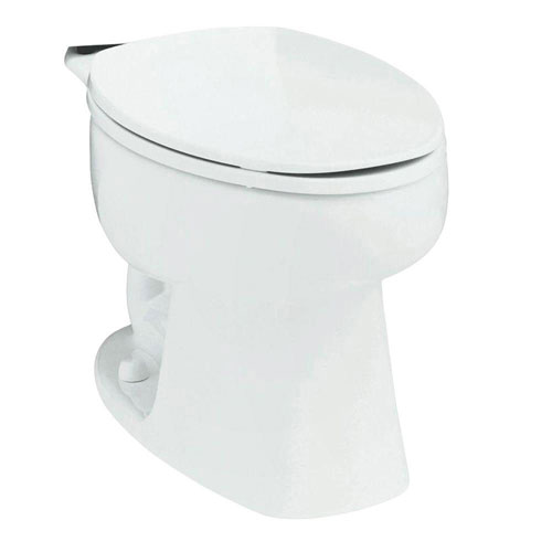 Sterling Windham Elongated Toilet Bowl Only in White 663160