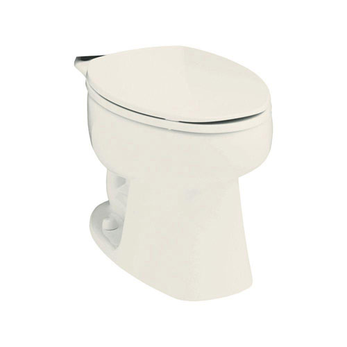 Sterling Windham Elongated Toilet Bowl Only in Biscuit 663162