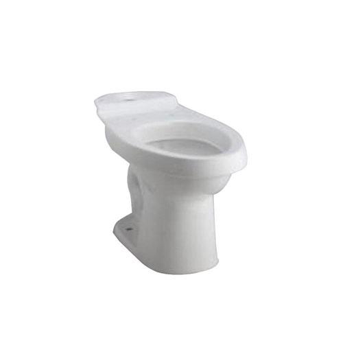 Sterling Karsten Dual Flush Elongated Toilet Bowl Only in White 663886