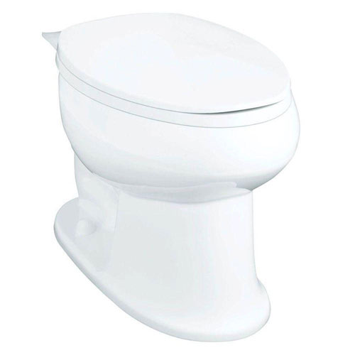 Sterling Stinson 1.28 GPF Elongated Toilet Bowl Only in White 663906