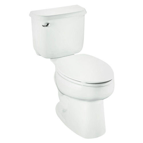 Sterling Windham 2-piece 1.6 GPF Luxury Height Elongated Toilet with ProForce Technology in White 670478