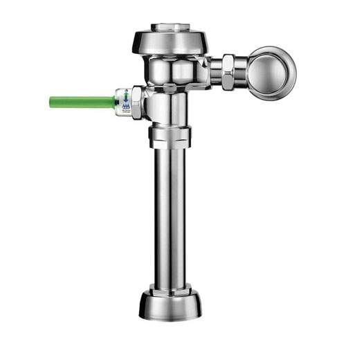Sloan WES-111 Dual Flush (1.1 / 1.6 gpf) Exposed Water Closet Flushometer with D, Chrome 512915