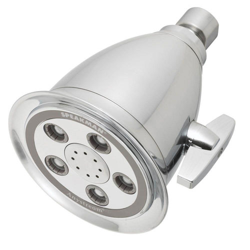 Speakman Hotel Massage 2-Spray Showerhead in Brushed Chrome 536906