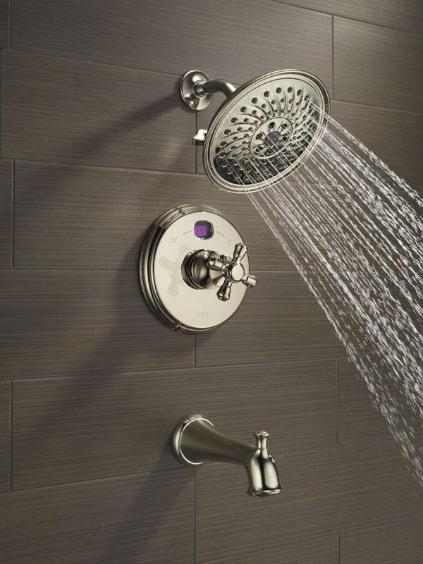 Delta Temp2O Digital Display Shower Faucets
