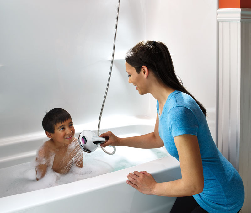 Shower Faucet Controls with Digital Display are great for people with kids